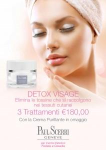 DETOX VISAGE elimina le tossine della pelle